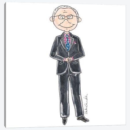 Tim Gunn Canvas Print #KHR126} by Kahri Canvas Print