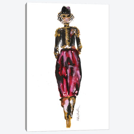 Alexandre Vaultier Couture 3-Piece Canvas #KHR137} by Kahri Canvas Art