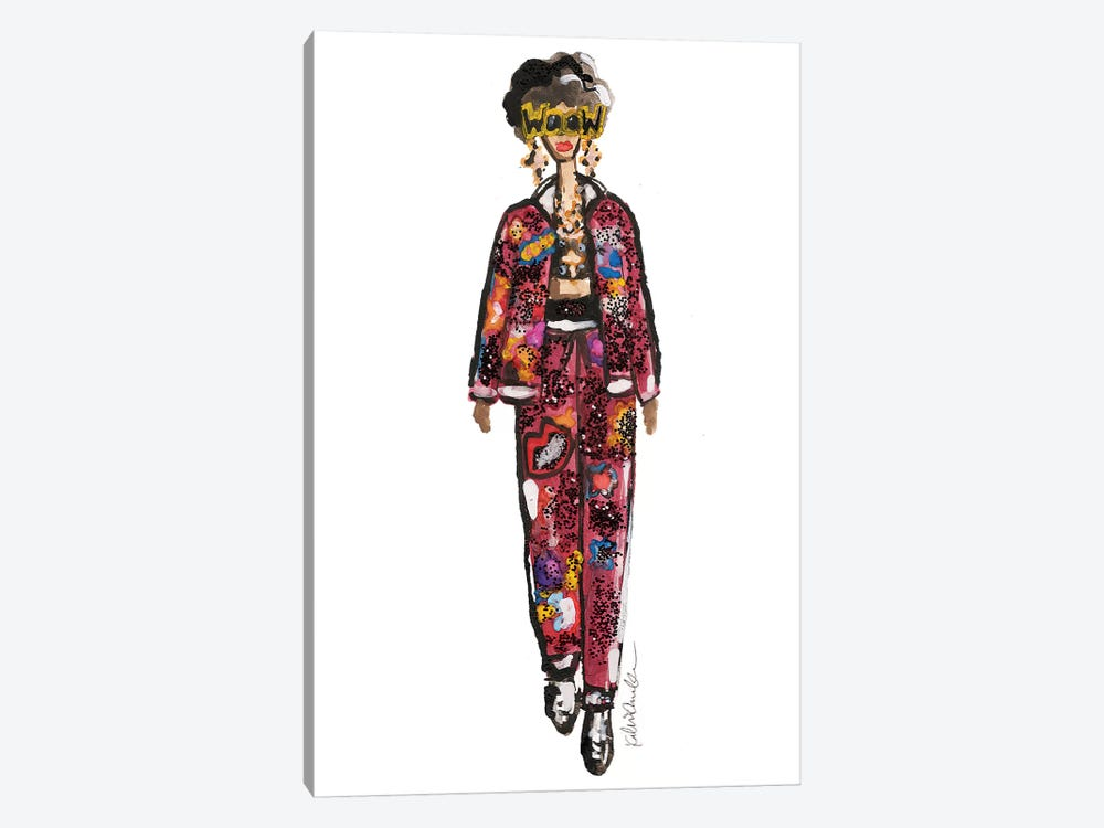 Wow Dolce by Kahri 1-piece Canvas Print