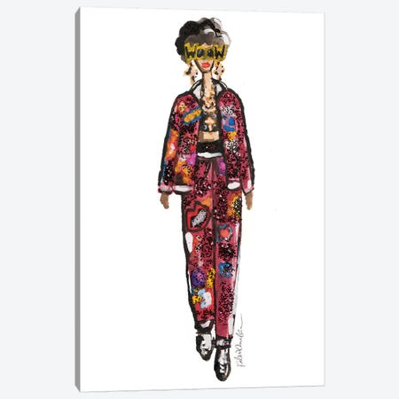 Wow Dolce Canvas Print #KHR146} by Kahri Canvas Art Print