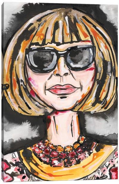 Anna W Canvas Art Print