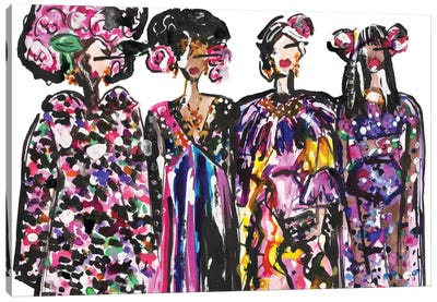 Dolce Girls Canvas Art Print