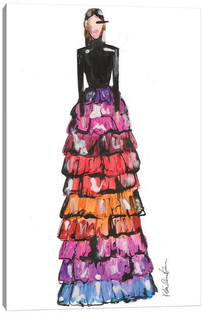 Givenchy Couture Sp 18 Canvas Art Print
