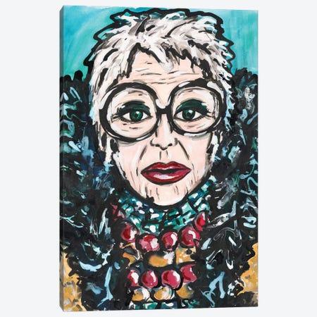 Iris Canvas Print #KHR159} by Kahri Canvas Print