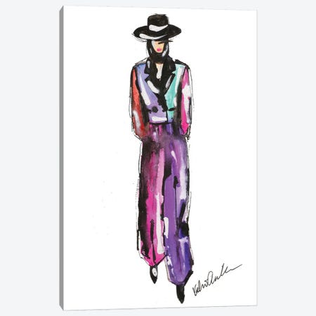 Marc Jacobs Fall 18 Colorblock Canvas Print #KHR161} by Kahri Canvas Wall Art