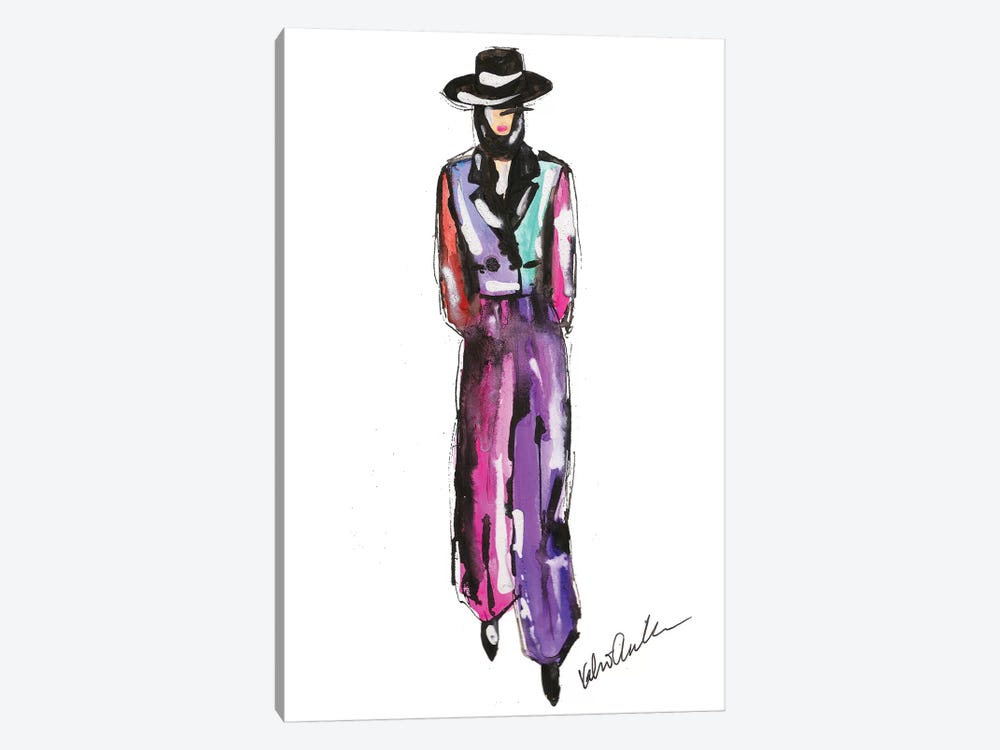 Marc Jacobs Fall 18 Colorblock by Kahri 1-piece Canvas Artwork