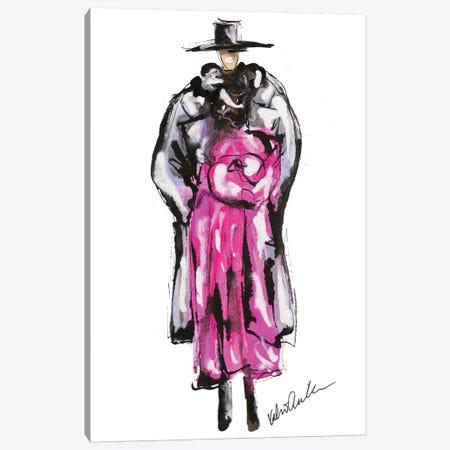 Marc Jacobs Fall 18 Pink Canvas Print #KHR162} by Kahri Canvas Wall Art