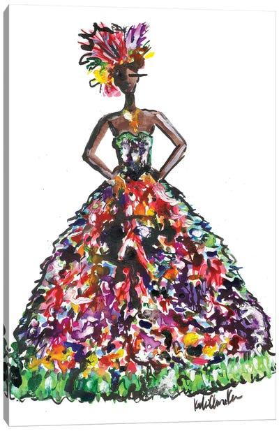 Naomi Dolce And Gabanna Canvas Art Print