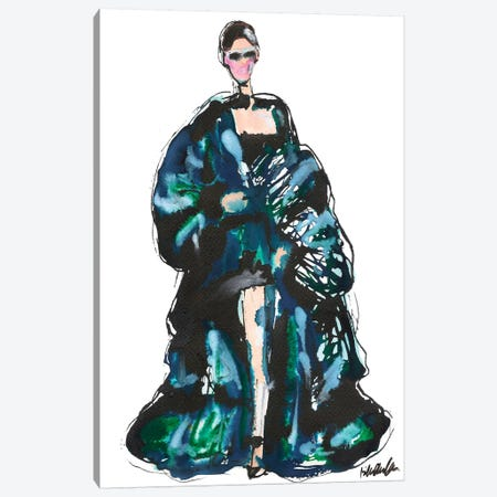 Bella Vaulthier Couture Spring '18 Canvas Print #KHR176} by Kahri Canvas Art