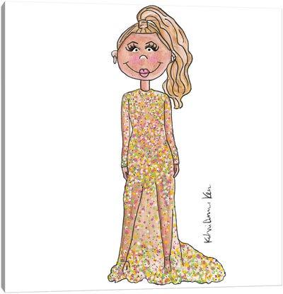 Beyonce, 2015 Met Gala Canvas Art Print