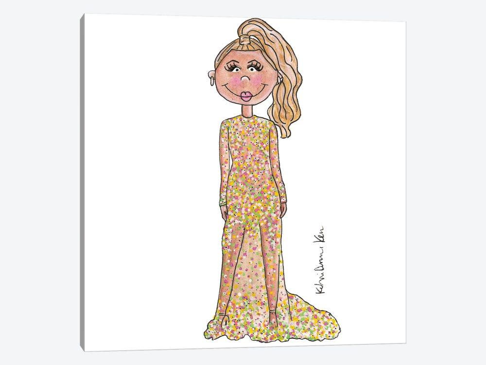 Beyonce, 2015 Met Gala by Kahri 1-piece Art Print