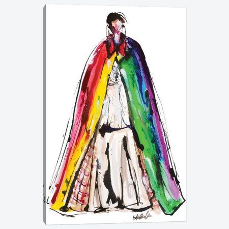 Burberry Rainbow Fall '18 Canvas Print #KHR181} by Kahri Canvas Artwork