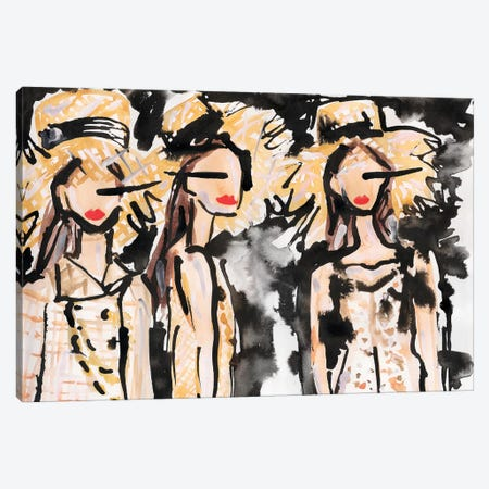 Chanel Backstage Canvas Print #KHR182} by Kahri Canvas Artwork