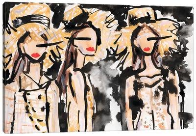 Chanel Backstage Canvas Art Print