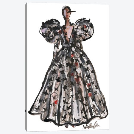Schiaparelli Couture Fall '18 Canvas Print #KHR185} by Kahri Art Print