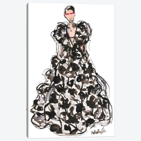 Valentino Couture Spring '18 Canvas Print #KHR188} by Kahri Canvas Wall Art