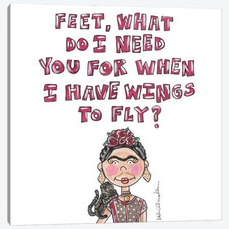 Frida Quote Canvas Print #KHR228} by Kahri Canvas Art Print