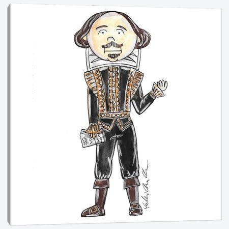 Shakespeare Canvas Print #KHR247} by Kahri Canvas Artwork