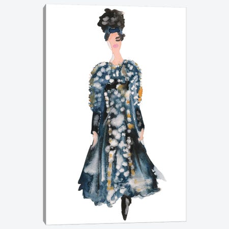 Chanel Couture Canvas Print #KHR30} by Kahri Canvas Artwork