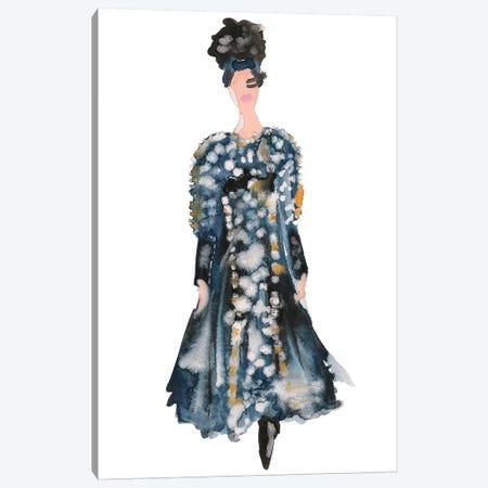 Chanel Couture Canvas Print #KHR30} by Kahri Canvas Artwork