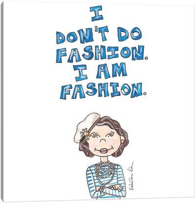 Coco Chanel Quote Canvas Art Print