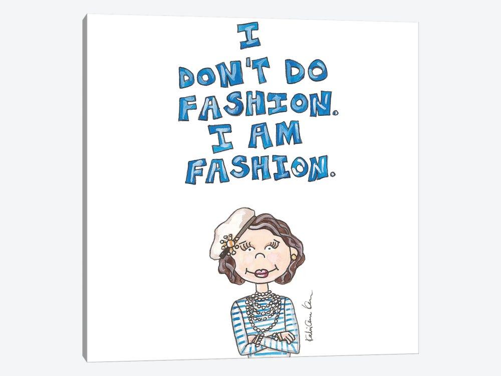 Coco Chanel Quote by Kahri 1-piece Canvas Artwork