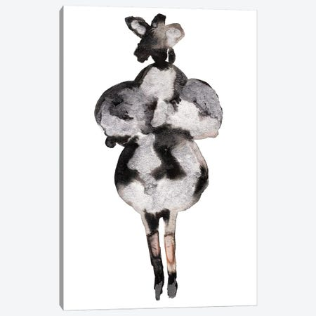 Comme de Garcons II 3-Piece Canvas #KHR40} by Kahri Canvas Print