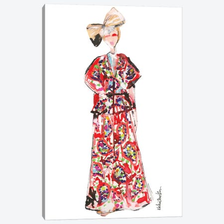 Delpozo Canvas Print #KHR43} by Kahri Canvas Print