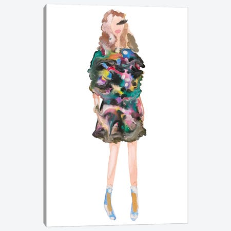 Fendi Couture Canvas Print #KHR53} by Kahri Canvas Artwork