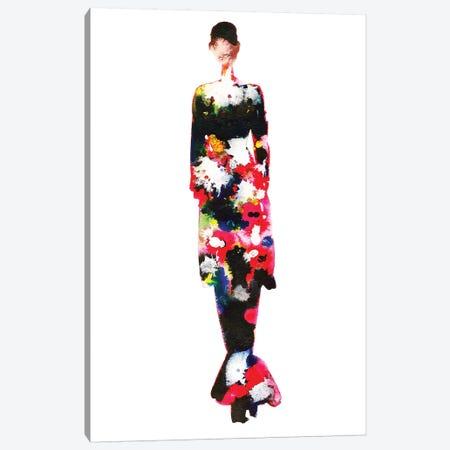 Fendi Couture Fall '17 Canvas Print #KHR54} by Kahri Canvas Art Print
