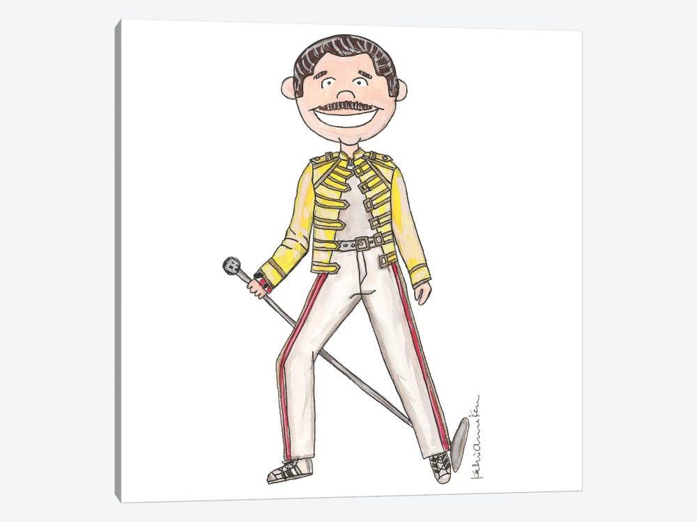 Freddie Mercury by Kahri 1-piece Canvas Art Print