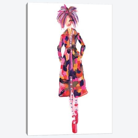 Gigi Hadid, Marc Jacobs Spring '17 (New York Fashion Week) Canvas Print #KHR60} by Kahri Canvas Art Print