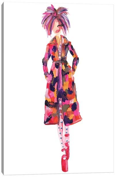 Gigi Hadid, Marc Jacobs Spring '17 (New York Fashion Week) Canvas Art Print