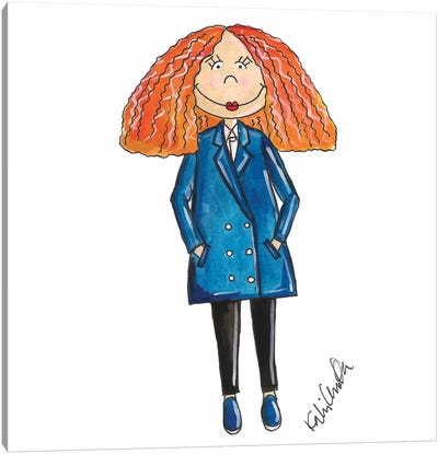 Grace Coddington Canvas Art Print