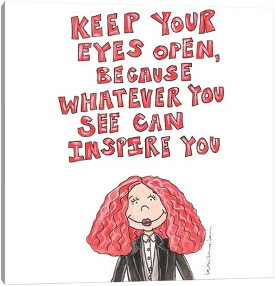 Grace Coddington Quote Canvas Art Print