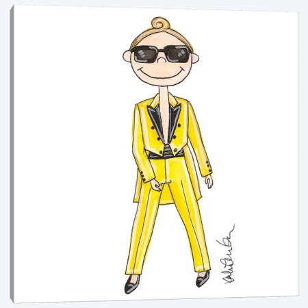 Jeremy Scott Canvas Print #KHR69} by Kahri Canvas Print