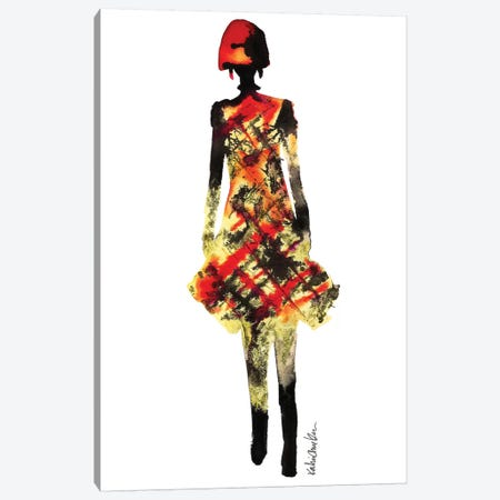 Junya Watanabe III 3-Piece Canvas #KHR74} by Kahri Canvas Print