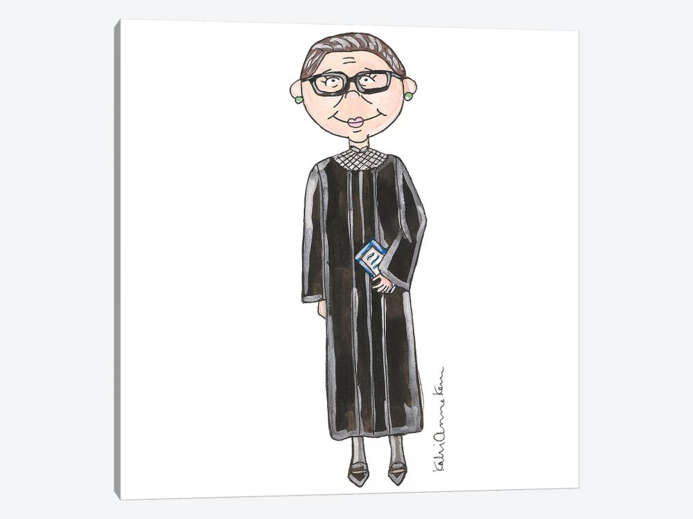 Ruth Bader Ginsburg by Kahri 1-piece Art Print