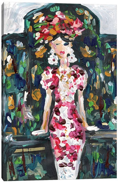 Karlie Kloss Canvas Art Print