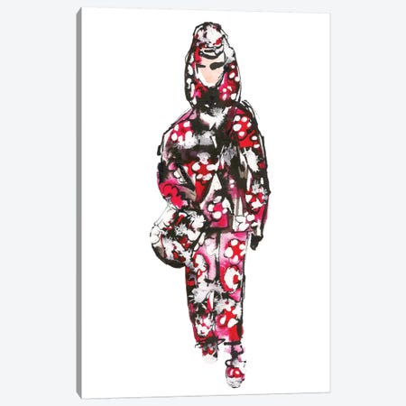 Marc Jacobs S/S '18 (Floral) Canvas Print #KHR96} by Kahri Art Print