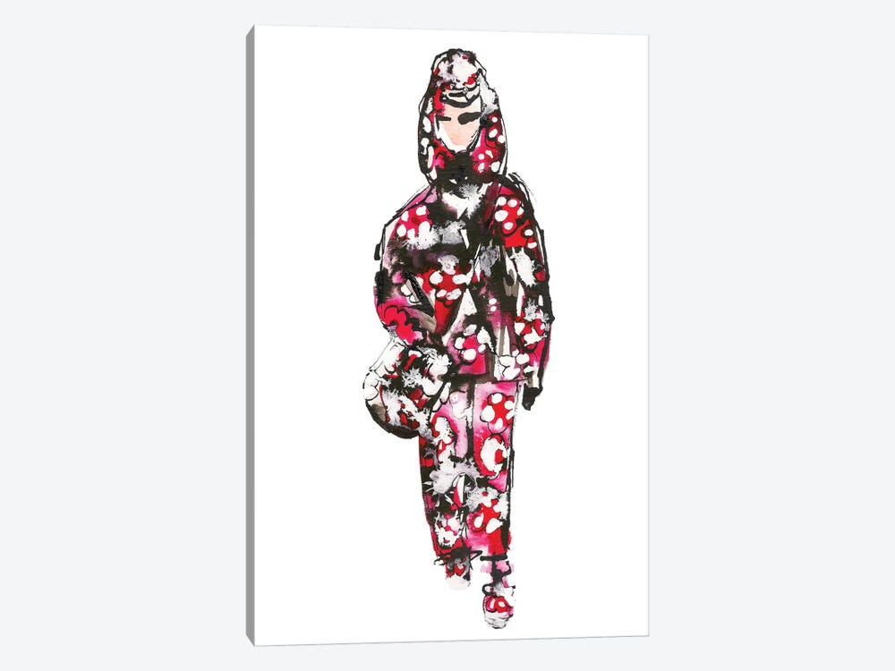 Marc Jacobs S/S '18 (Floral) by Kahri 1-piece Canvas Art