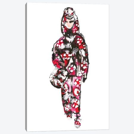 Marc Jacobs S/S '18 (Floral) Canvas Print #KHR96} by Kahri Art Print