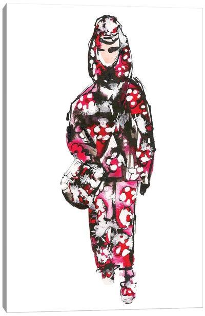 Marc Jacobs S/S '18 (Floral) Canvas Art Print
