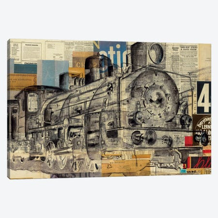 King Of The Road 3-Piece Canvas #KHS10} by Kelsey Hochstatter Canvas Art Print