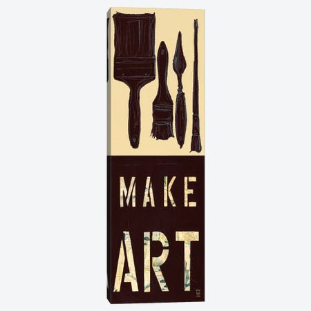 Make Art Canvas Print #KHS11} by Kelsey Hochstatter Art Print