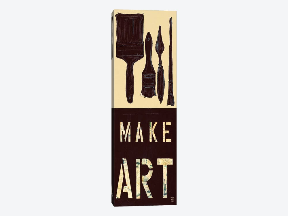 Make Art by Kelsey Hochstatter 1-piece Canvas Wall Art