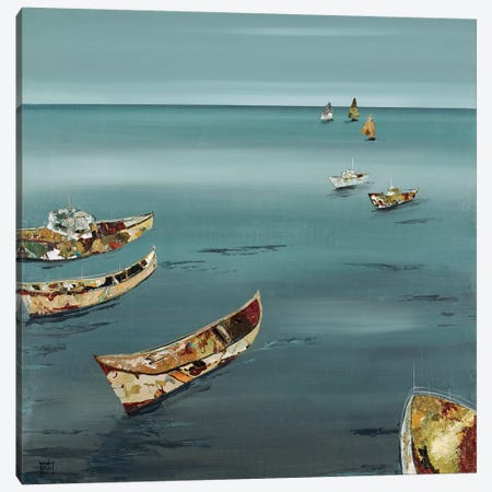Open Sea Canvas Print #KHS15} by Kelsey Hochstatter Canvas Artwork