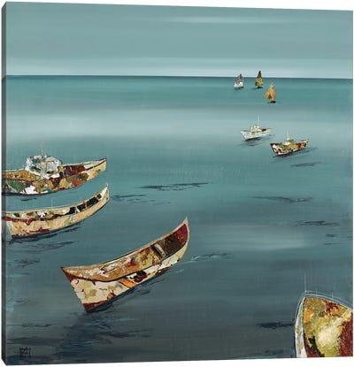 Open Sea Canvas Art Print