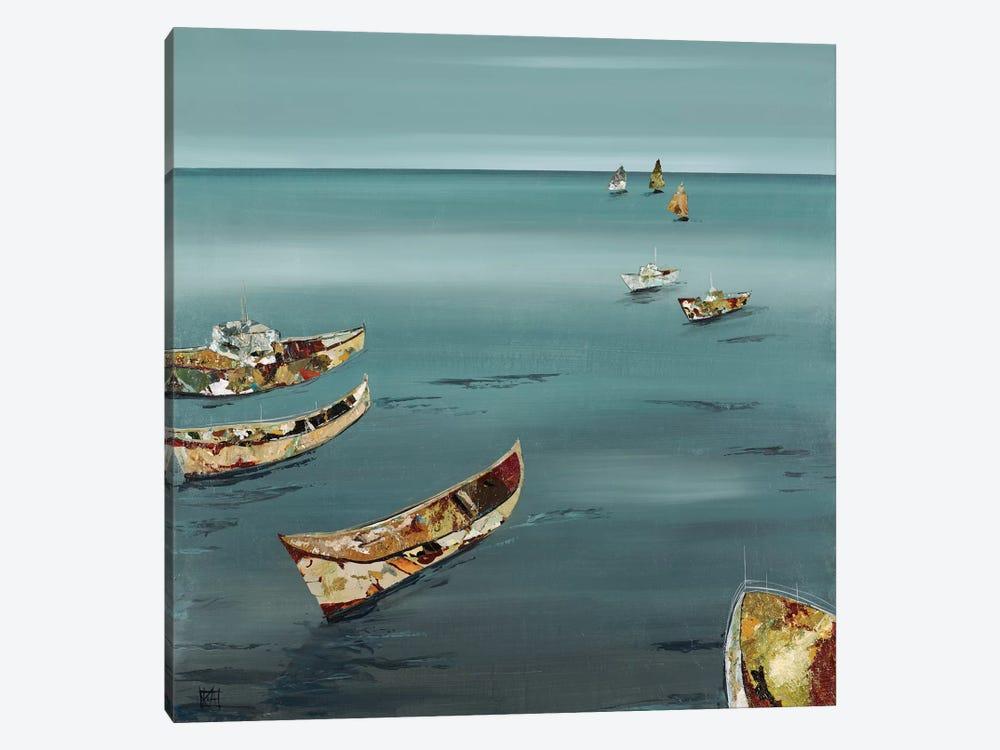 Open Sea by Kelsey Hochstatter 1-piece Canvas Wall Art