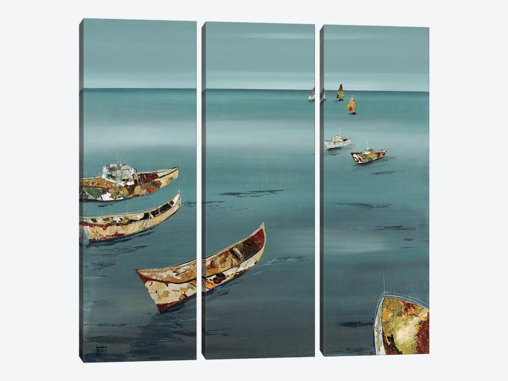 Open Sea by Kelsey Hochstatter 3-piece Canvas Art